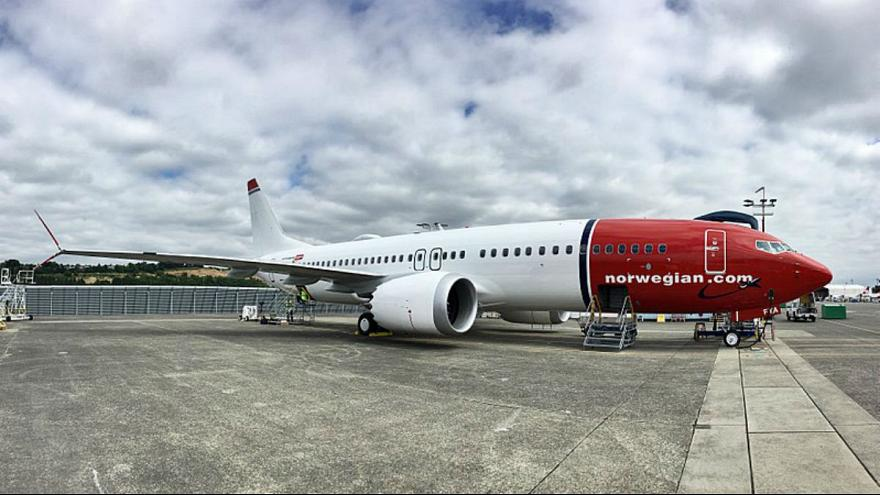 Norwegian's first 737 Max