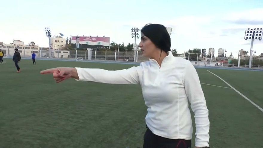 Syrien: Fußballtrainerin Maha Jannoud auf Erfolgskurs