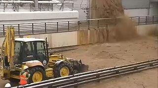 Москва: Тушинский туннель открыт после затопления