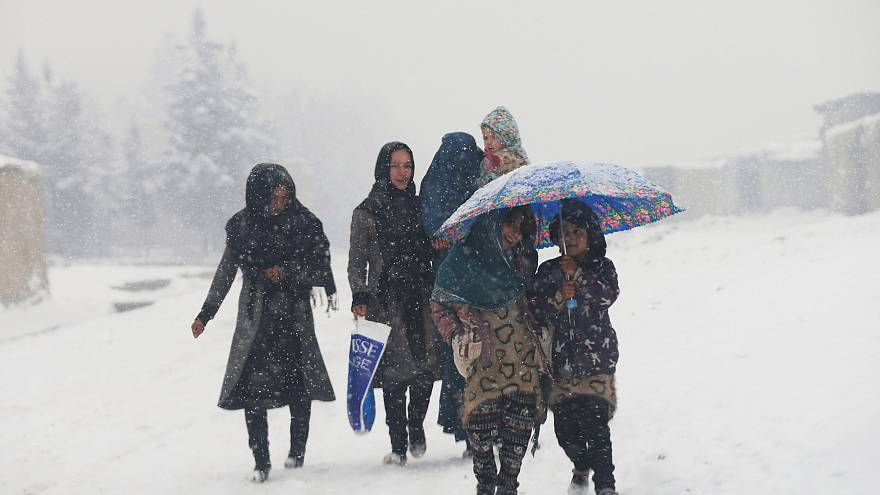 امیدواری به کاهش خشکسالی با ادامه بارش برف در کابل