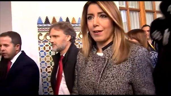 Susana Díaz se atrinchera en la oposición andaluza