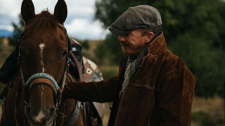 Learning to ride a horse in the Wild West: Foy Vance visits Santa Fe, New Mexico