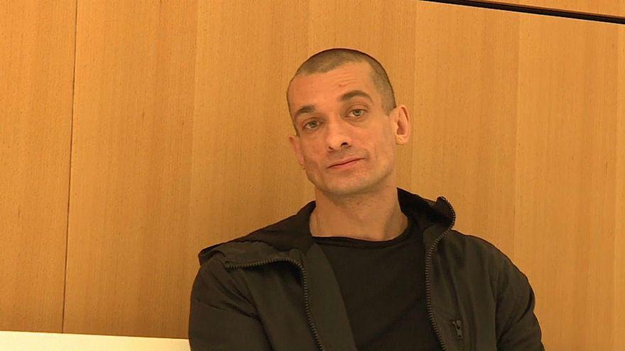 Павленскому дали три года