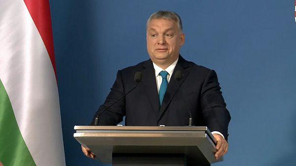 L'immigration, thème de la rare conférence de presse d'Orban