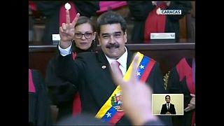 Maduro toma posesión con todo en contra