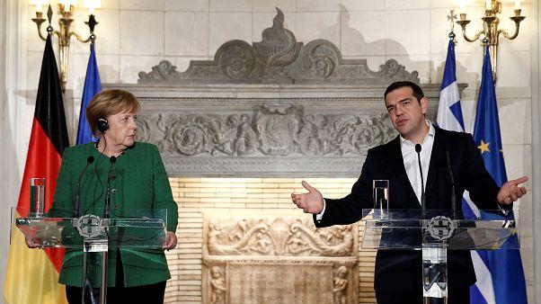 Felmelegedett a görög-német viszony