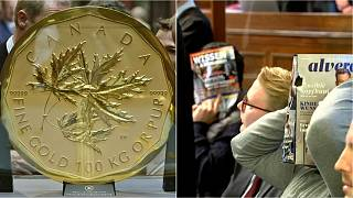 Big Maple Leaf: Four men go on trial accused of stealing huge gold coin from Bode Museum, Berlin
