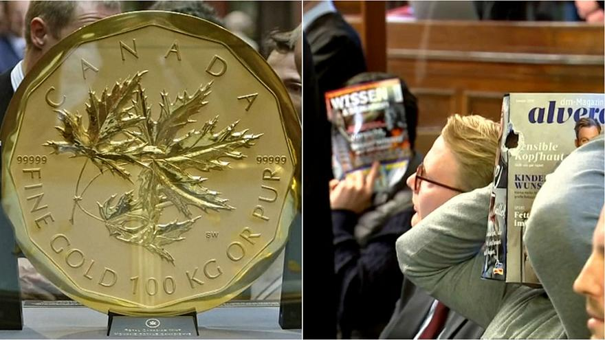 BigMapleLeaf: Four men go on trial accused of stealing huge gold coin fromBodeMuseum, Berlin