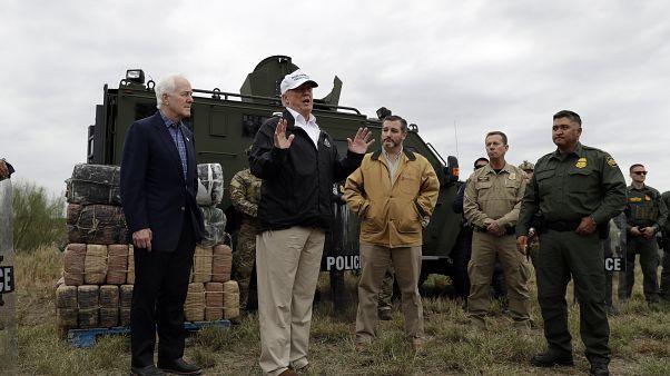 Trump'tan Meksika duvarı hamlesi: Ulusal çapta acil durum ilan edebilirim