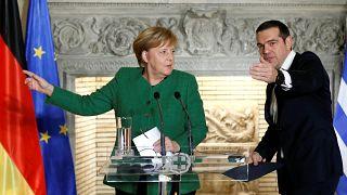 Mέρκελ: Είμαι ευγνώμων προς τον Αλ. Τσίπρα που εργάστηκε για λύση στο ονοματολογικό