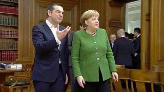 Меркель в Афинах обсуждает политику и экономику Греции и ЕС