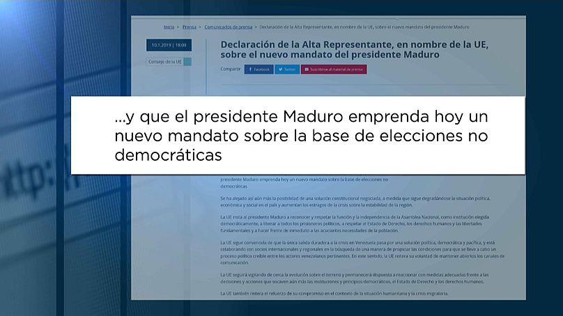 'Viva México', exclama Maduro al iniciar segundo periodo como presidente