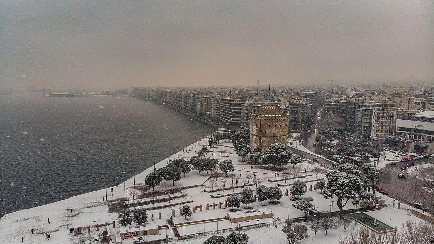 Ελλάδα: Τέσσερις διαδοχικές κακοκαιρίες και χιόνια σε πάνω από το 60% της χώρας