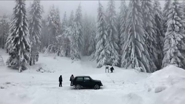 Bufere di neve record in Austria e Germania