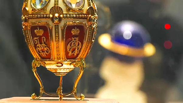 Fabergé eggs go on display at the New Jerusalem Museum