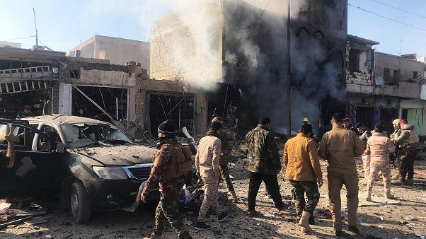 مقتل شخص على الأقل في انفجار سيارة ملغومة ببلدة القائم العراقية
