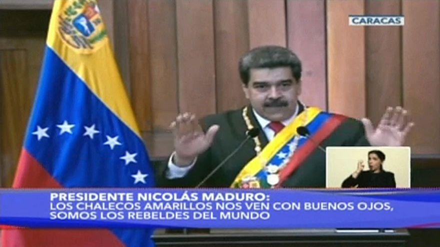 Beiktatta magát a venezuelai elnök