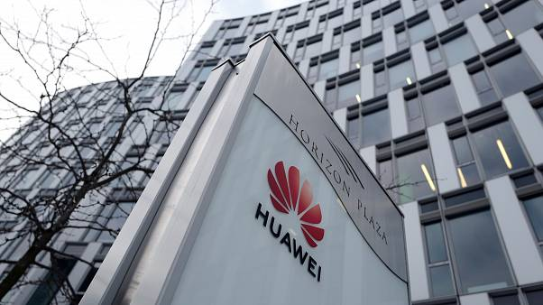 Local offices of Huawei in Warsaw