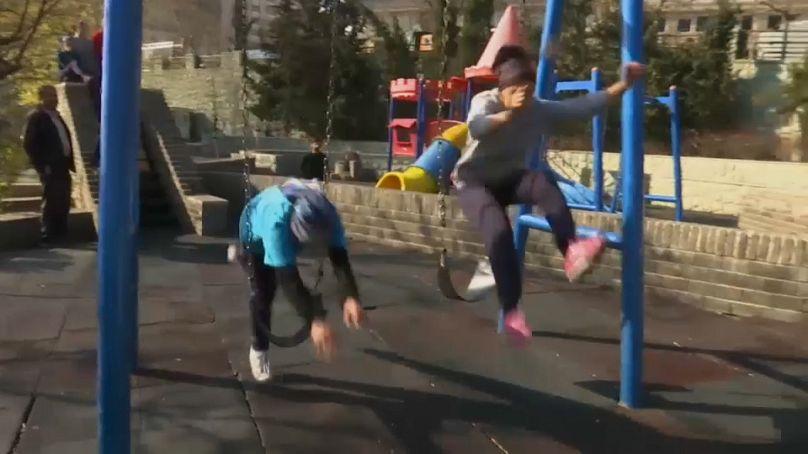 عکس از ویدئوی آسوشیتدپرس