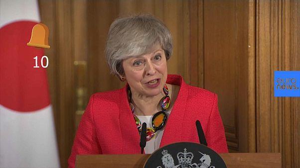 La vida del 'brexit': May repite la palabra 'deal' (acuerdo) 10 veces en 25 segundos