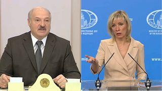 Лукашенко угрожает, Захарова успокаивает