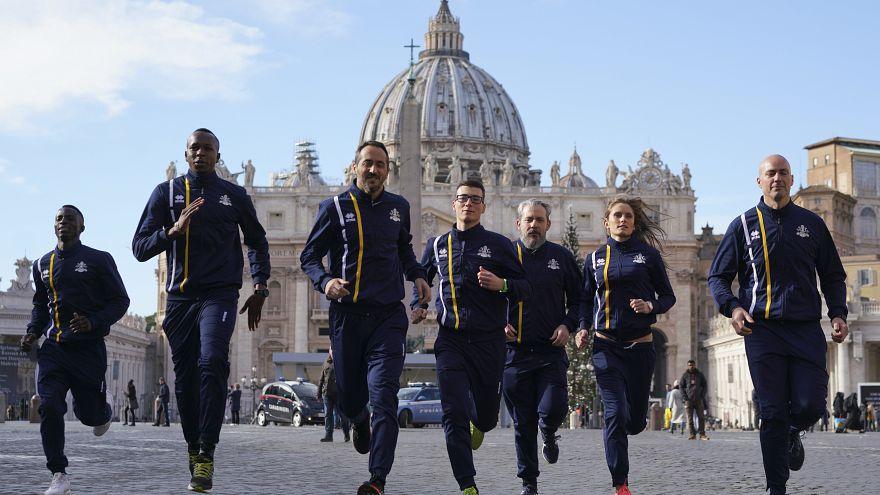 Rahibeler Olimpiyatlar'da: Athletica Vaticana etkinlikte Kilise'yi temsil edecek