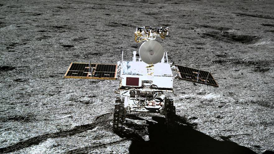 Watch: China releases video showing probe landing on far side of the moon