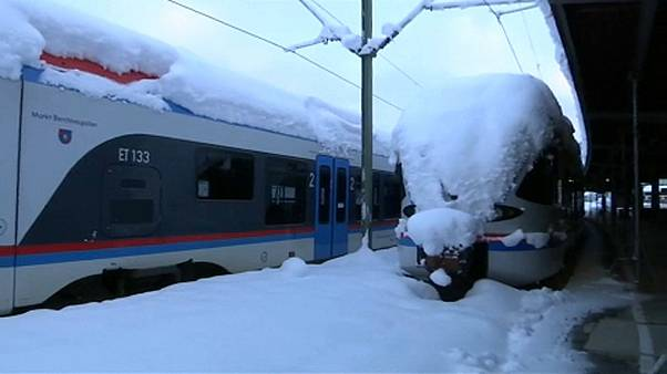 Hóhelyzet: Németországban, Ausztriában már a katonaságot is mozgósították