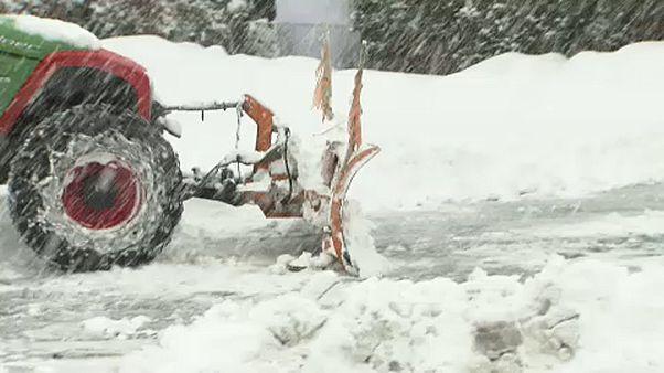 L'Autriche, paralysée par des chutes de neige meutrières