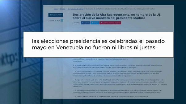 """UE: """"Eleições na Venezuela não foram livres nem justas"""""""