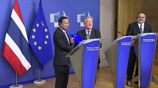 Thai-EU-s együttműködés az illegális halászat megfékezéséért