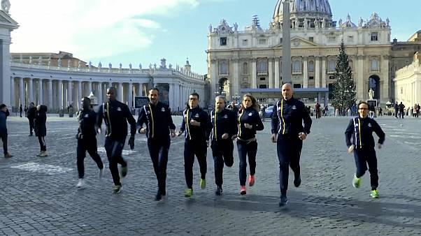 Running on a prayer: Vatican launches track team
