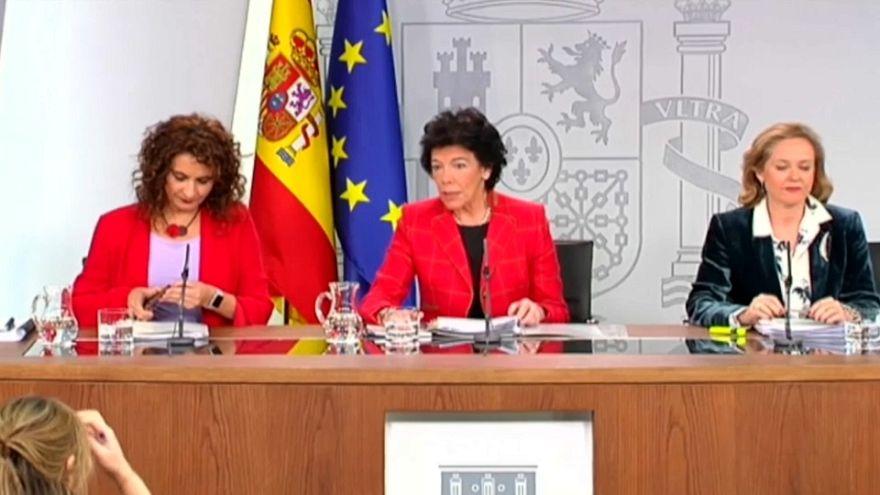El Gobierno de Sánchez aprueba el proyecto de presupuesto 2019