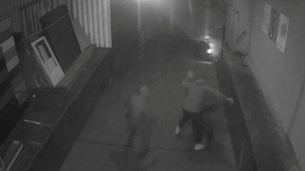 Обнародовано видео нападения на Магница