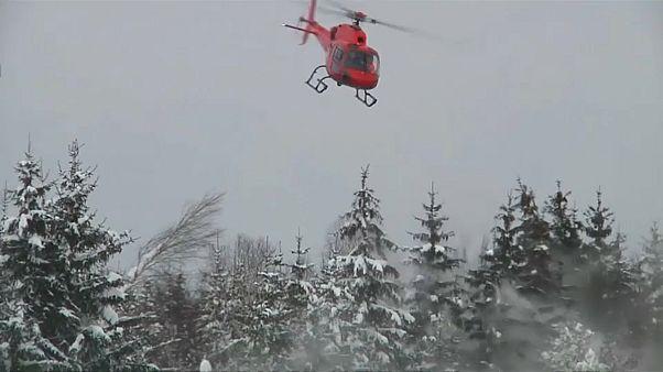 Bayern: Fliegender Schneepflug