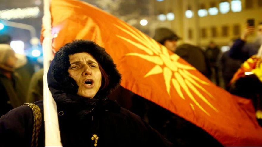 پارلمان مقدونیه رای به تغییر نام کشور داد