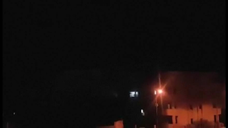 الغارات الإسرائيلية التي استهدفت العاصمة السورية دمشق