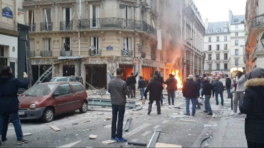 انفجار قوی در پاریس جان ۳ نفر را گرفت