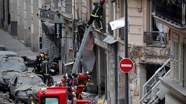 Paris: Sicherheitskräfte bergen 4. Todesopfer nach Gasexplosion