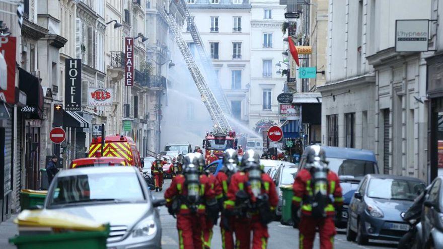 Paris'te patlama: Dört kişi hayatını kaybetti