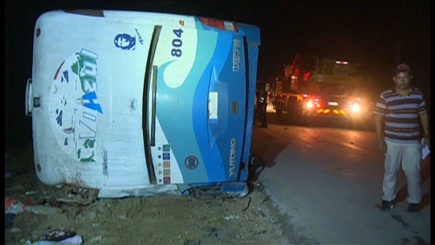 Cuba culpa al chófer del accidente mortal de un autocar cargado de turistas
