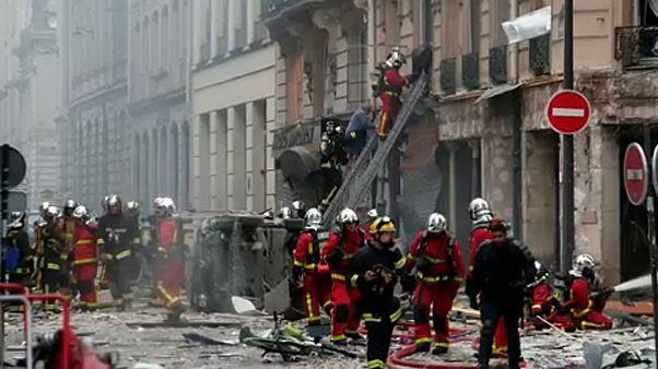 Взрыв в Париже - утечка газа?