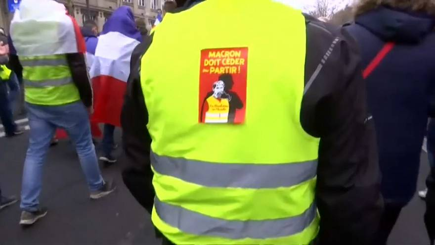 Francia, nono sabato di protesta dei gilet gialli