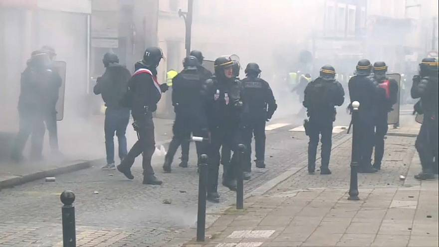 Noveno acto de protesta de los chalecos amarillos