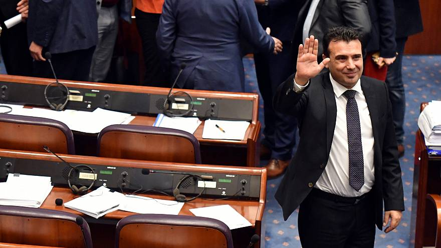 Ζάεφ: «Πιστεύω ακράδαντα ότι η φίλη Ελλάδα θα κυρώσει την συμφωνία των Πρεσπών»