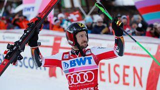 Hirscher domina il gigante di Adelboden
