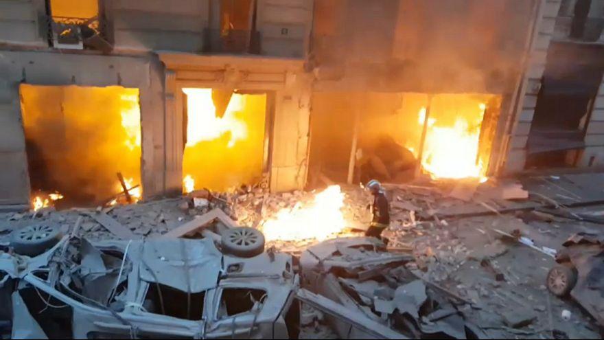 تعداد کشته های انفجار ساختمانی در پاریس به ۴ نفر افزایش یافت