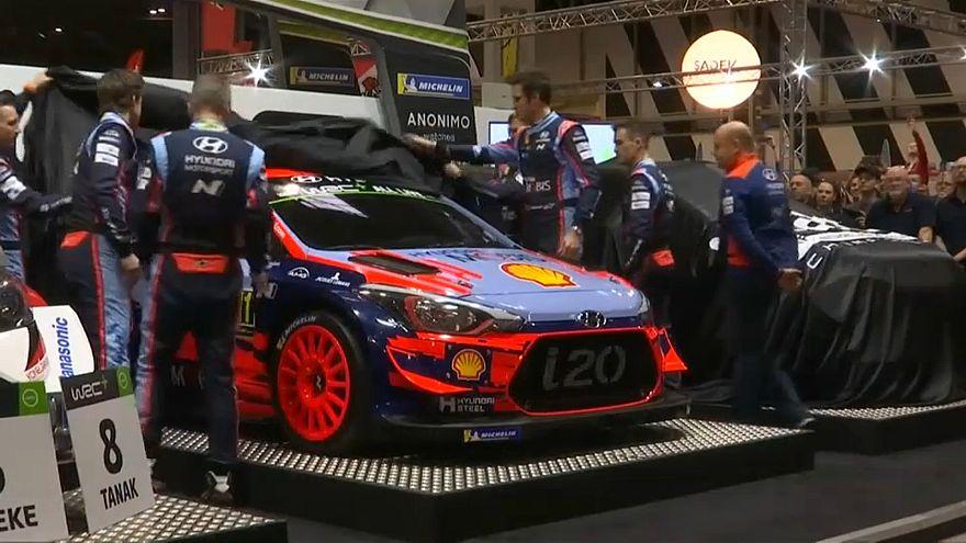 WRC Präsentation 2019 in Birmingham