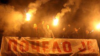 Βελιγράδι: 6η εβδομάδα διαδηλώσεων κατά του προέδρου Βούτσιτς