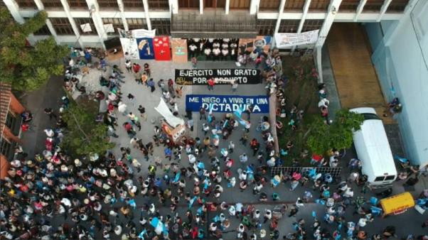 Guatemala protests after President Morales shuts anti-corruption unit